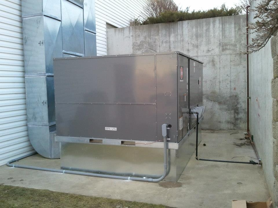 Church of Nazarene - 15 Ton Heating/Cooling Unit