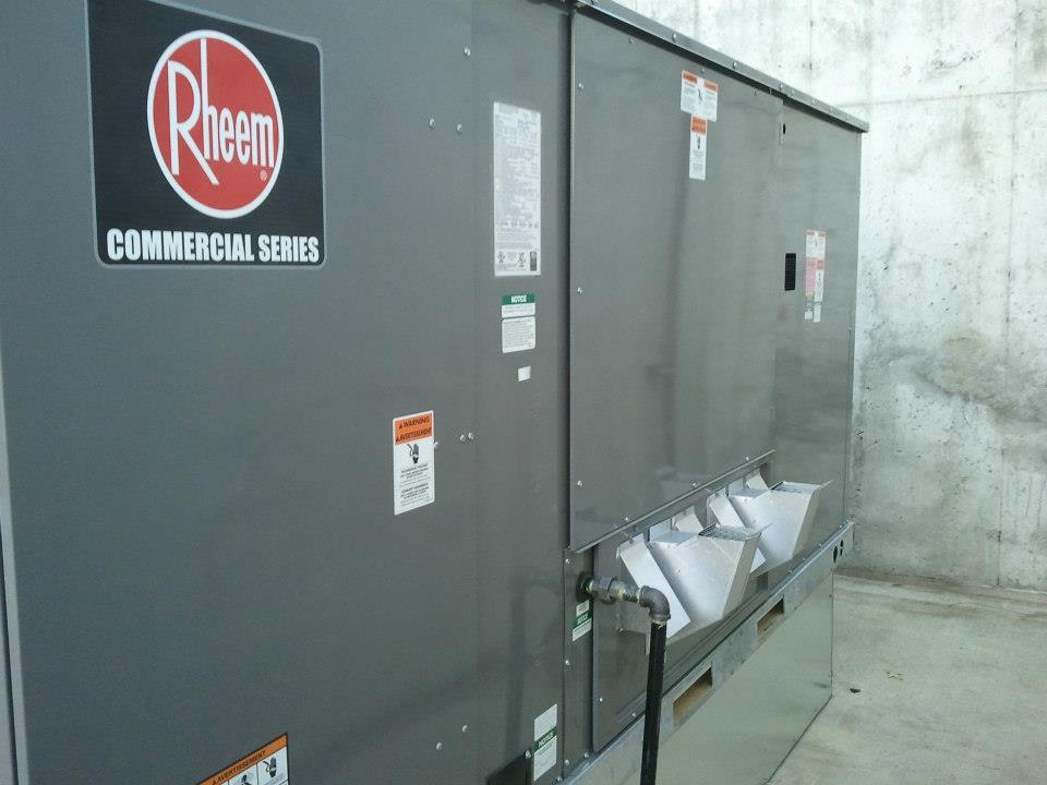 15 Ton Heating/Cooling Unit
