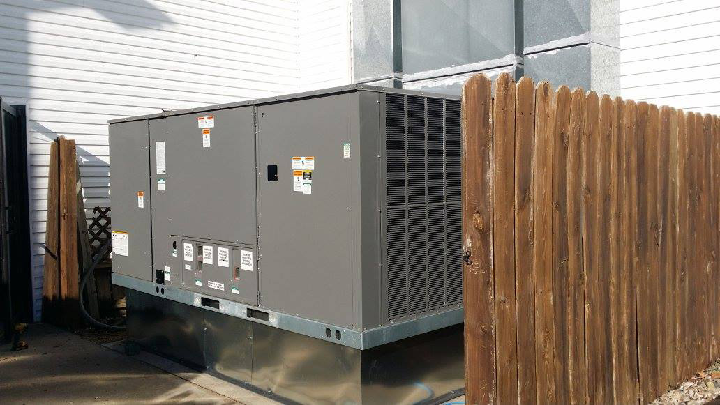15 Ton Gas Pack Installation